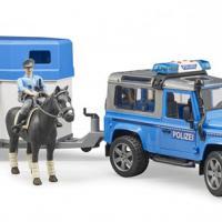 Nieuw binnen! Politie speelset met paardentrailer en paard