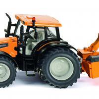 Valtra Tractor met Kuhl bermmaaier (Siku 3659)